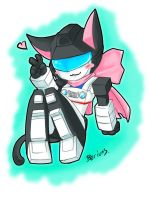 TF:chibi kitty Jazz by Beriuos