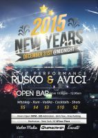 New Years - Flyer by VectorMediaGR