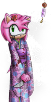 Amy in a Kimono by raikoufighter