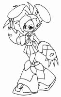 Robot Master Isha by X-Cross