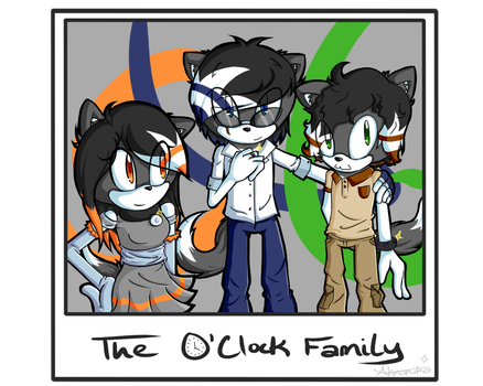 The O'Clock Family by FracturedMirror