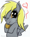 Filly Derpy by BaroqueDavid