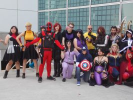 AX2014 - Marvel/DC Gathering: 018 by ARp-Photography