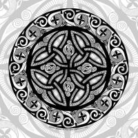 Celtic Shield by foxvox