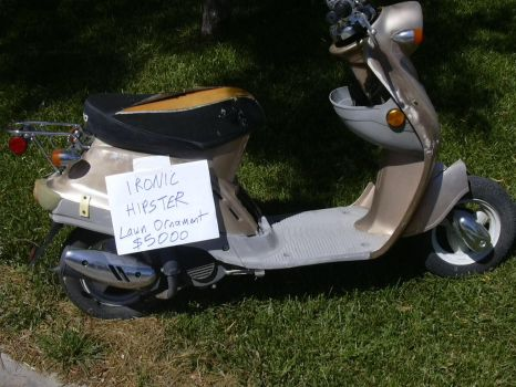 moped for sale by plastikmaniac
