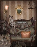 Bexhill Parlour, Mauve Decade by Urceola