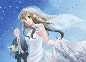 APH:ReaderxGilbert-Wedding Reception:Chapter Three by ElectricMomo