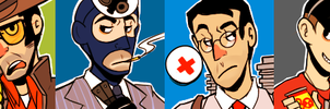 TF2 icons by CrescentMarionette