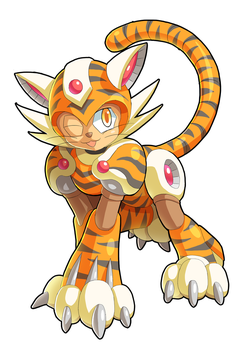 Commission: Tiger Woman by ultimatemaverickx