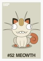 052 Meowth by hiugo