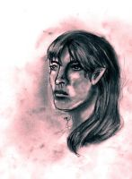 Saerin - The Rose Elf by calthyechild