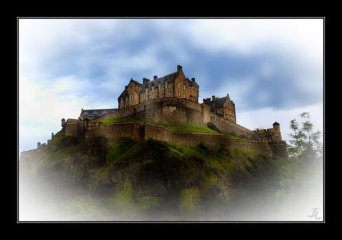 Edinburgh Castle by JeremyIBBC