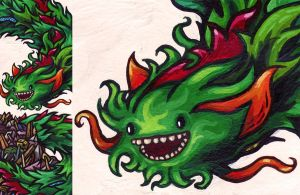Green Dragon by mtomsky