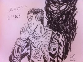 WSC Agent Silas Shade of BPRD by Infinity-Joe