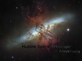Hubble Space Telescope 16th by Pokehkins