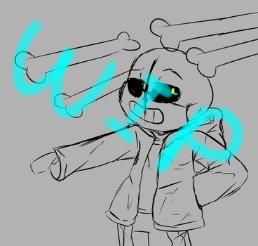 [WIP] When You Still Can't Beat Sans... by MLPBASESEGRR