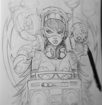 Boombada Sketch by romidion