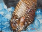 Fish in ice by skizzeartist01