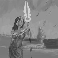 Liliana of the Veil wip 4 by iplaythisgame