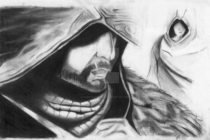 Ezio and Altair by Tommydrawgames