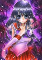 Sailor Mars by OoOoPitchBlackOoOo