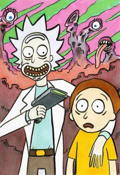 Rick and Morty - Exploring the crazy multiverse! by ColinRichards