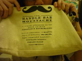 Ze Handle Bar Moustache~ by TasmanianDevilzz