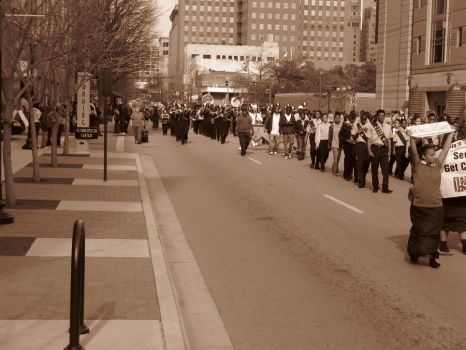 MLK Parade in Fort Worth 2012 by LilithLairPoetry