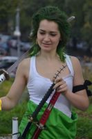 Zoro female version (One Piece) by Zaziki95