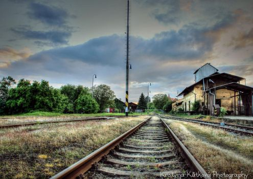 Railway station by KristeeSanders