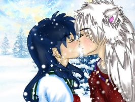 Secret Santa: A winter's kiss by MissMuniiia