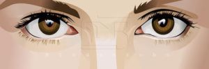 Vector Eyes by indrorobo