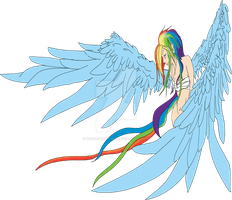 Rainbow Dash: Unfinished by MariaDarkwings