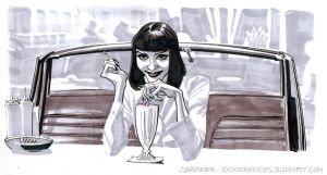 Mrs. Mia Wallace by kickstandkid78