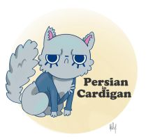 Persian in Cardigan by MessaMessner