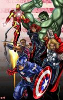 AVENGERS :Movie Version: by TyrineCarver