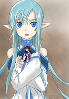 ZS C 003 - Mother's Rosario - Undine Asuna and Yui by zheure