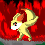 fennekin :Contest entry by Accalialove