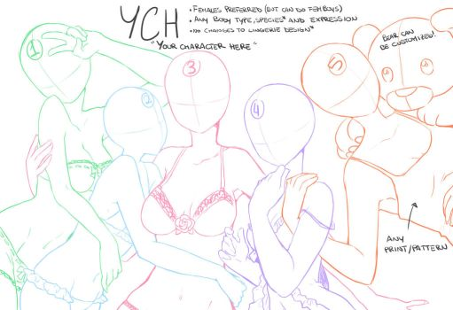 :YCH: Girls Night - CLOSED by DesireeU