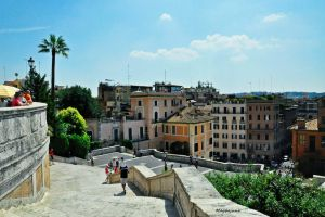 above Spanish steps by maybejune