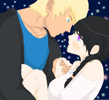 Under the starry sky - I've missed you by yukicaster