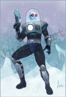 Mr. Freeze color by JudasArt