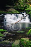little Waterfalls by Finvara