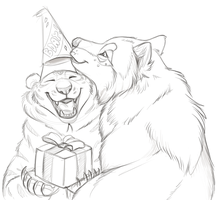 Birthday Bri by CunningFox