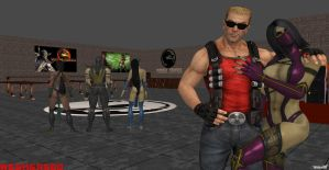 My Gift to the IAMs of MK by Wesker500