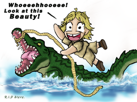 Steve Irwin The Croc Hunter by Ruth-Tay