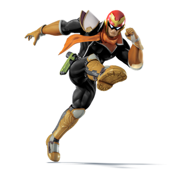 Capt Falcon Black by Droe747