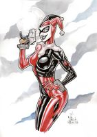 HARLEY QUINN commish by Vinz-el-Tabanas