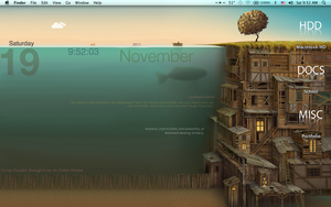 Mac Desktop by Seashins