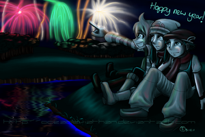 New Years in Sinnoh by OceanLeviathan